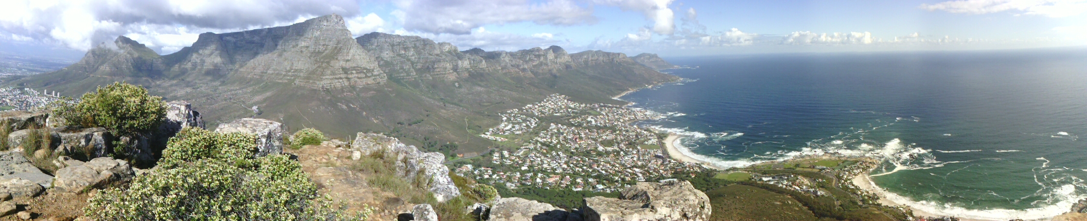 Cape Town from Lions Head