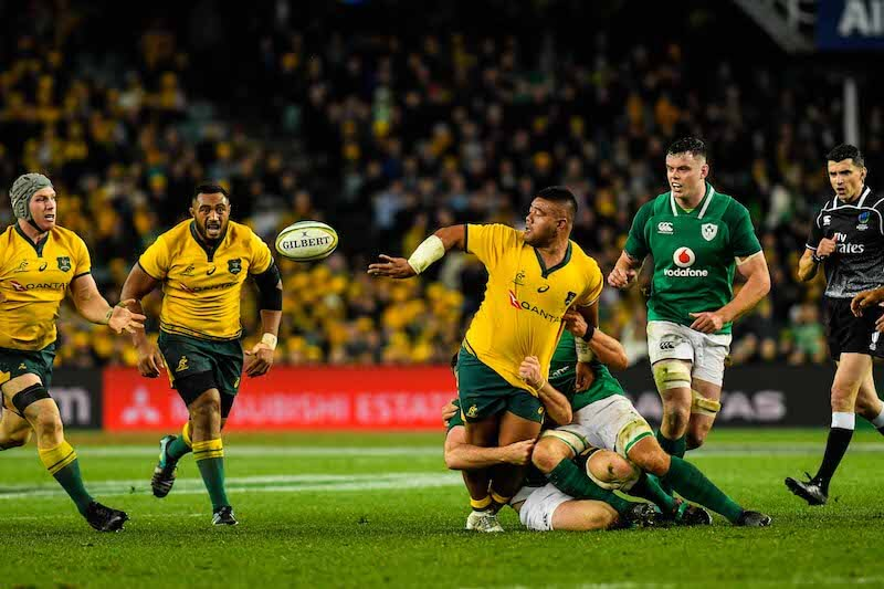 Australia Wallabies vs Ireland 2018 Sydney Allianz