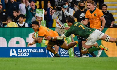 Len Ikitau scores his second try