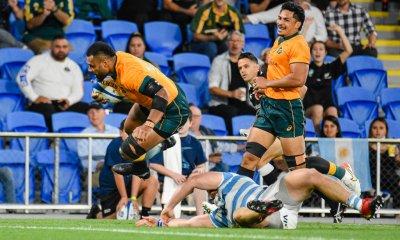 Samu Kerevi crosses to score