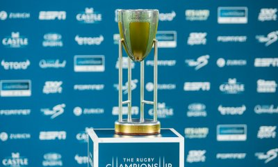 The Rugby Championship trophy